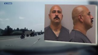 Truck driver facing charges for allegedly hitting motorcycle rider