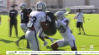 Raiders send starting O-line home after Brown's COVID test