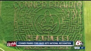 Headless Horseman corn maze at Conner Prairie receives national recognition