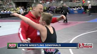State Wrestling Semifinals - Video