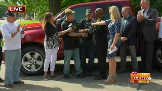 "Deserving Veteran ""Doc"" Gets a Truck!"