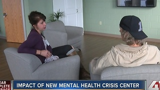 New KC mental health crisis center is 'better option than jail or ER' - Video