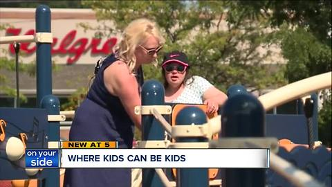 Lake County unveils playground for people with disabilities