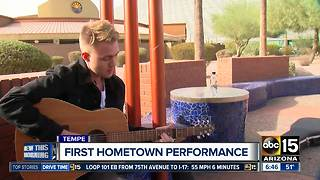 Homegrown entertainer to play first Valley show - Video