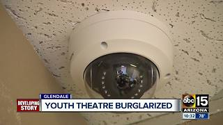 Youth Theater says targeted by burglar 3 times in 2 months - Video