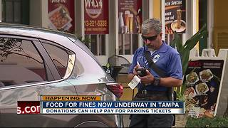 Pay less for parking tickets, help those in need - Video