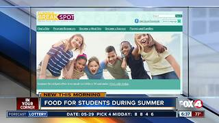 Summer food program available - Video