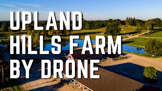 Upland Hills Farm Oxford Michigan Drone Footage 9/4/2020