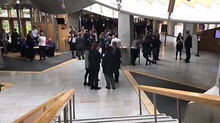Scottish Parliament Evacuated as 'Suspicious Packages' Found - Video