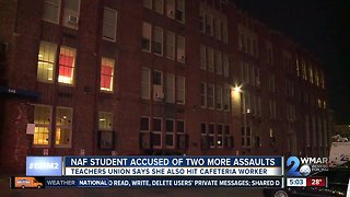 Student arrested after alleged assault on school nurse and aide