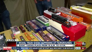Annual Model Train show is at the Kern County Fairgrounds