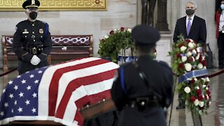 Capitol Officer Lies In Honor: 'He Became A Martyr For Our Democracy'