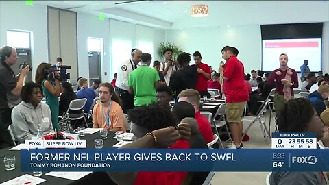 Local former NFL player plays positive role in Southwest Florida