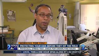 Protecting Your Kids Before They Hit The FIeld - Video