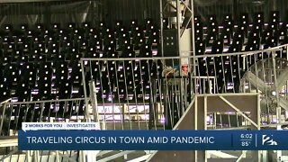 Traveling Circus In Town Amid Pandemic