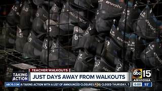 Backup plans for parents during the Arizona teacher walkout - Video
