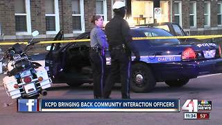 New KCPD police chief bringing community outreach program back - Video