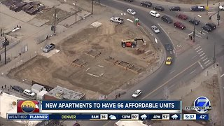 New apartments to have 66 affordable units