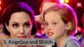 8 Celebrities and Their Look-Alike Children | Rare People - Video