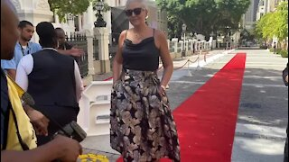 SOUTH AFRICA - Cape Town - SONA Red Carpet action (Video) (FzL)