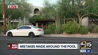 Man found dead in Phoenix apartment complex pool - Video