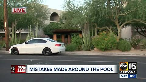 Man found dead in Phoenix apartment complex pool