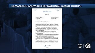 Sen. Peters calls on National Guard to terminate food contract, provide per diem for MI soldiers