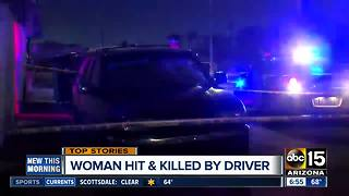 Woman hit, killed by hit-and-run driver