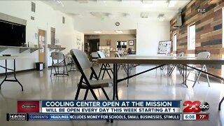 Cooling center open at The Mission