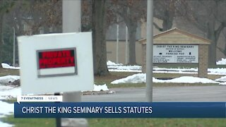 Statues from Christ the King Seminary went missing, only to reappear for sale at an antique store