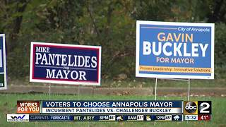 Maryland residents voting to choose next Mayor - Video