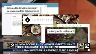 New foodie phenomenon: E-Restaurants - Video