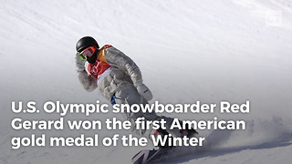 US Gold Medallist Almost Missed the Competition - Video
