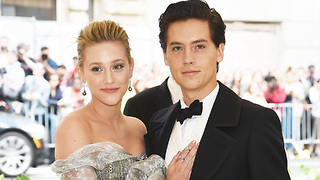Lili Reinhart & Cole Sprouse FInally CONFIRM Their Relationship AT 2018 Met Gala