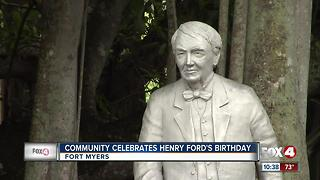 Community Celebrates Henry Ford's Birthday - Video