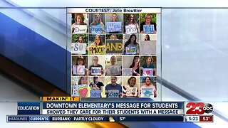 Teachers share message to students