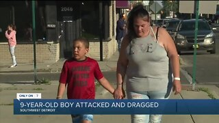 Boy, 9, dragged by his neck in Detroit as stranger tries stealing his fake gold chain