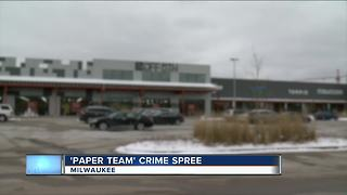 Video shows alleged members of 'Paper Team' crew beat store employee with belt - Video
