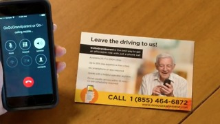 Go Go Grandparent: Ride sharing for senior citizens - Video
