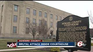 Sister, mother of slain Howard County deputy assaulted at courthouse - Video