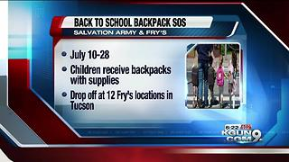 Salvation Army asking community for school supplies - Video
