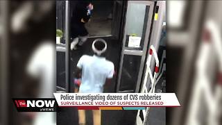 Two Cleveland CVS stores robbed more than 50 times since March - Video