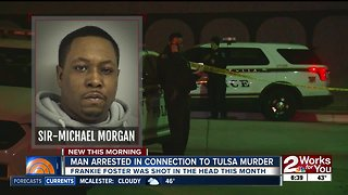 Man arrested in connection to Tulsa murder