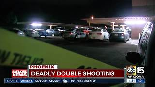 One dead, one hurt in shooting at Phoenix apartment complex - Video