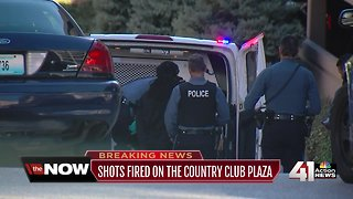 2 in custody after shots fired on Plaza