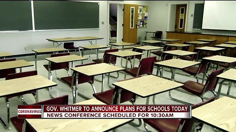 Gov. Whitmer to announce plans for schools today