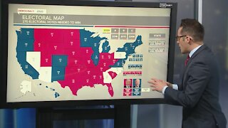 Latest look at the Electoral map with Biden ahead in Georgia