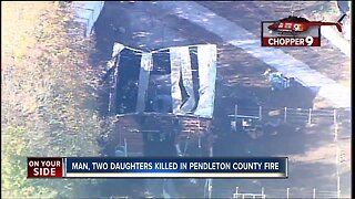 Police: Father, two daughters dead in Pendleton County fire