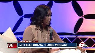 A night with Michelle Obama in Indianapolis - Video