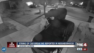 String of break-ins reported in Lehigh Acres